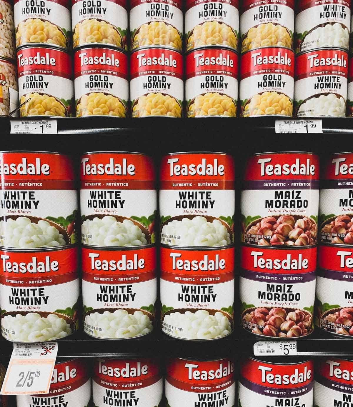 Hominy for Pozole | cookeatblog.com