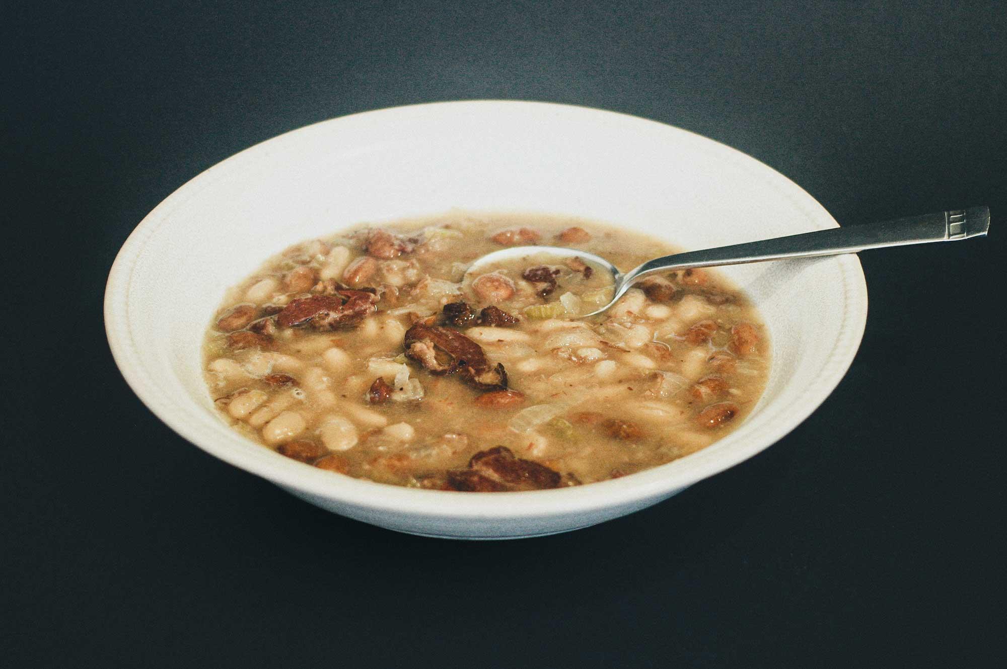 Smoked Lamb & Bean Soup