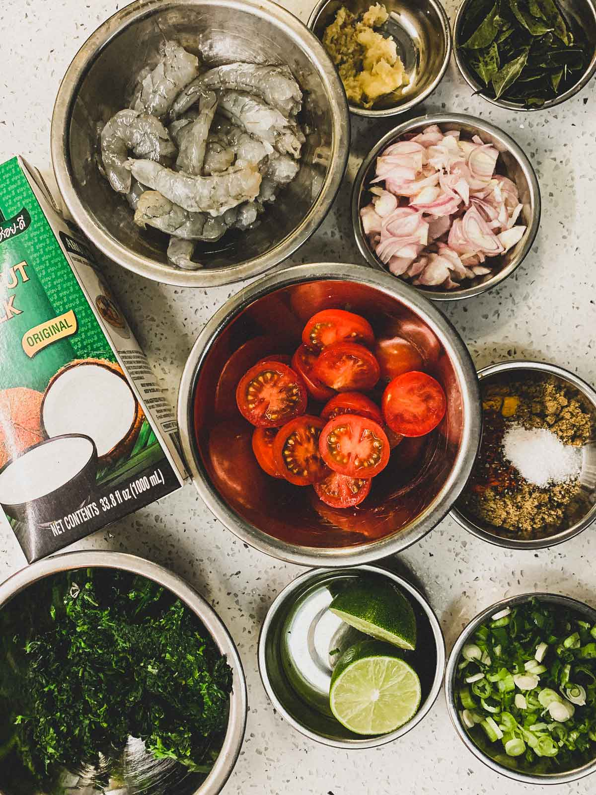 Jheenga Palak - Shrimp & Spinach Curry