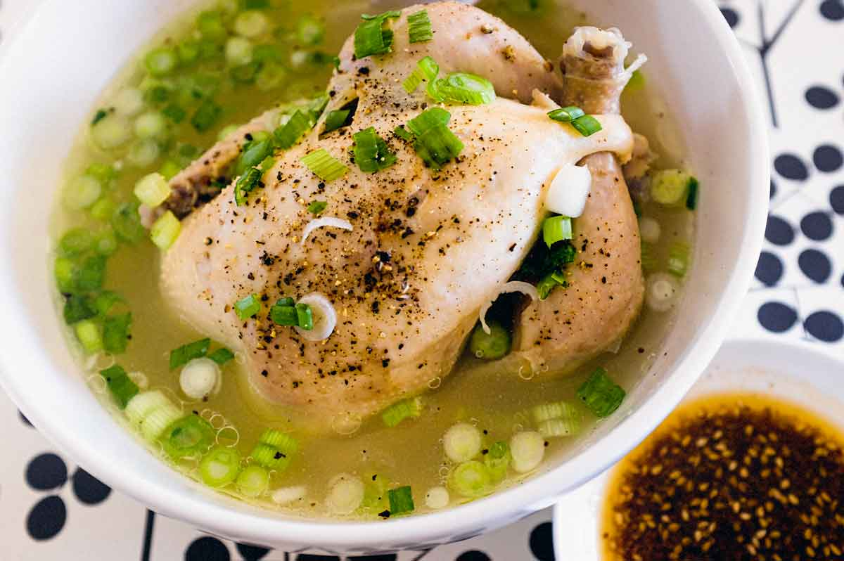 Korean Samgyetang (Ginseng Chicken Soup)