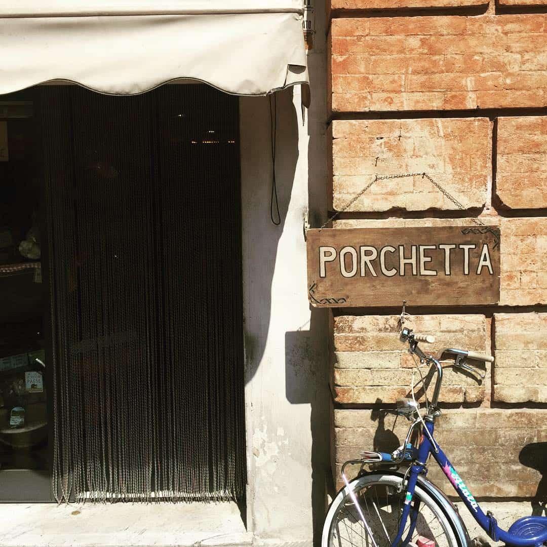 Italian Porchetta store