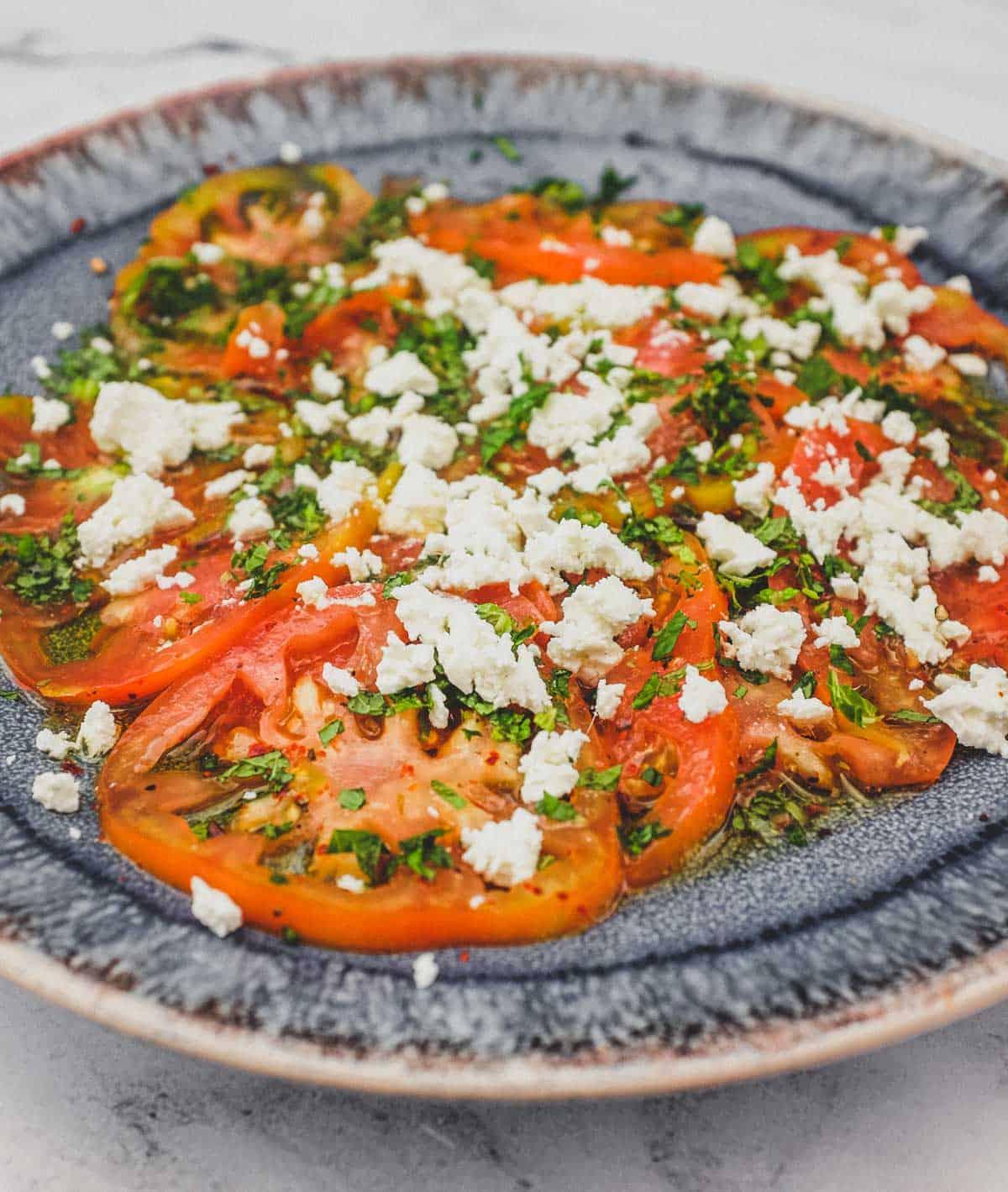 Tomato & Feta Salad