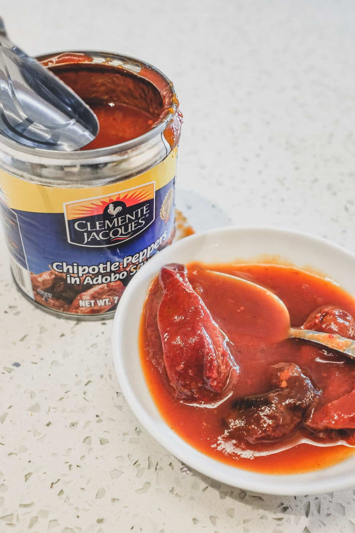 Chipotle Peppers in Adobo Sauce for my creamy chipotle chicken